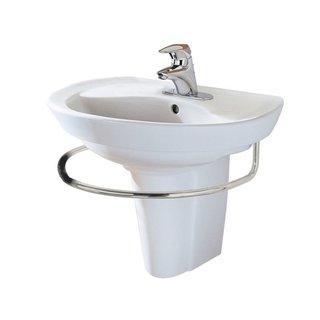 American Standard Ravenna White Porcelain Pedestal/ Shroud Bathroom Sink 0268.144.020