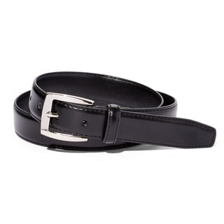 E.M.P Men's Black Leather Belt