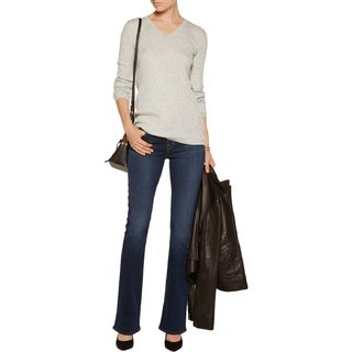 J Brand Women's Storyteller Trouble Blue Cotton/Polyester Flare Jeans