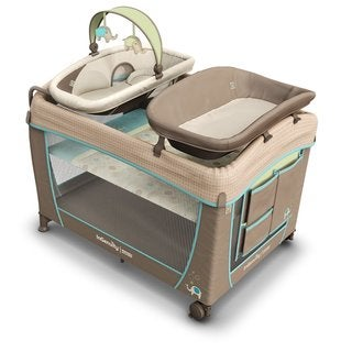 Ingenuity Sahara Burst Washable Playard with Dream Centre