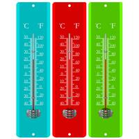 La Crosse T83691 11.8 Inch Metal Thermometer, Assorted colors