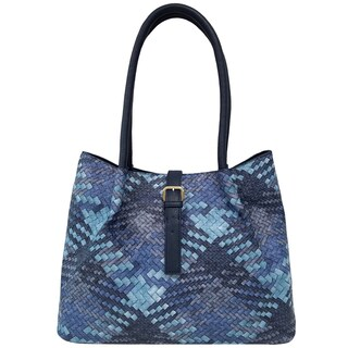 Bueno of California Woven Tote Bag