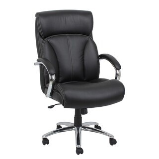 Barcalounger Black Executive Chair