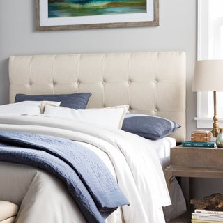 Humble + Haute Stratton Queen Size Ivory Raffia Upholstered Headboard