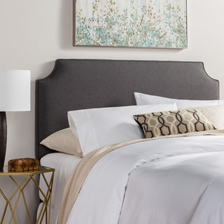 Humble + Haute Raleigh King Size Charcoal Upholstered Headboard