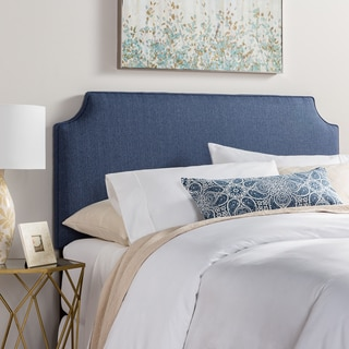 Humble + Haute Raleigh King Size Navy Blue Upholstered Headboard