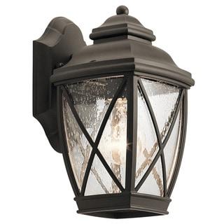 Kichler Lighting Tangier Collection 1-light Olde Bronze Outdoor Wall Lantern