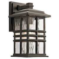 Kichler Lighting Beacon Square Collection 1-light Olde Bronze Outdoor Wall Lantern