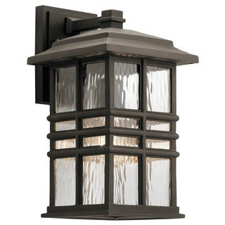 Kichler Lighting Beacon Square Collection 1 Light Olde Bronze Outdoor Wall  Lantern