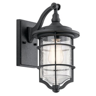 Kichler Lighting Royal Marine Collection 1-light Distressed Black Outdoor Wall Lantern