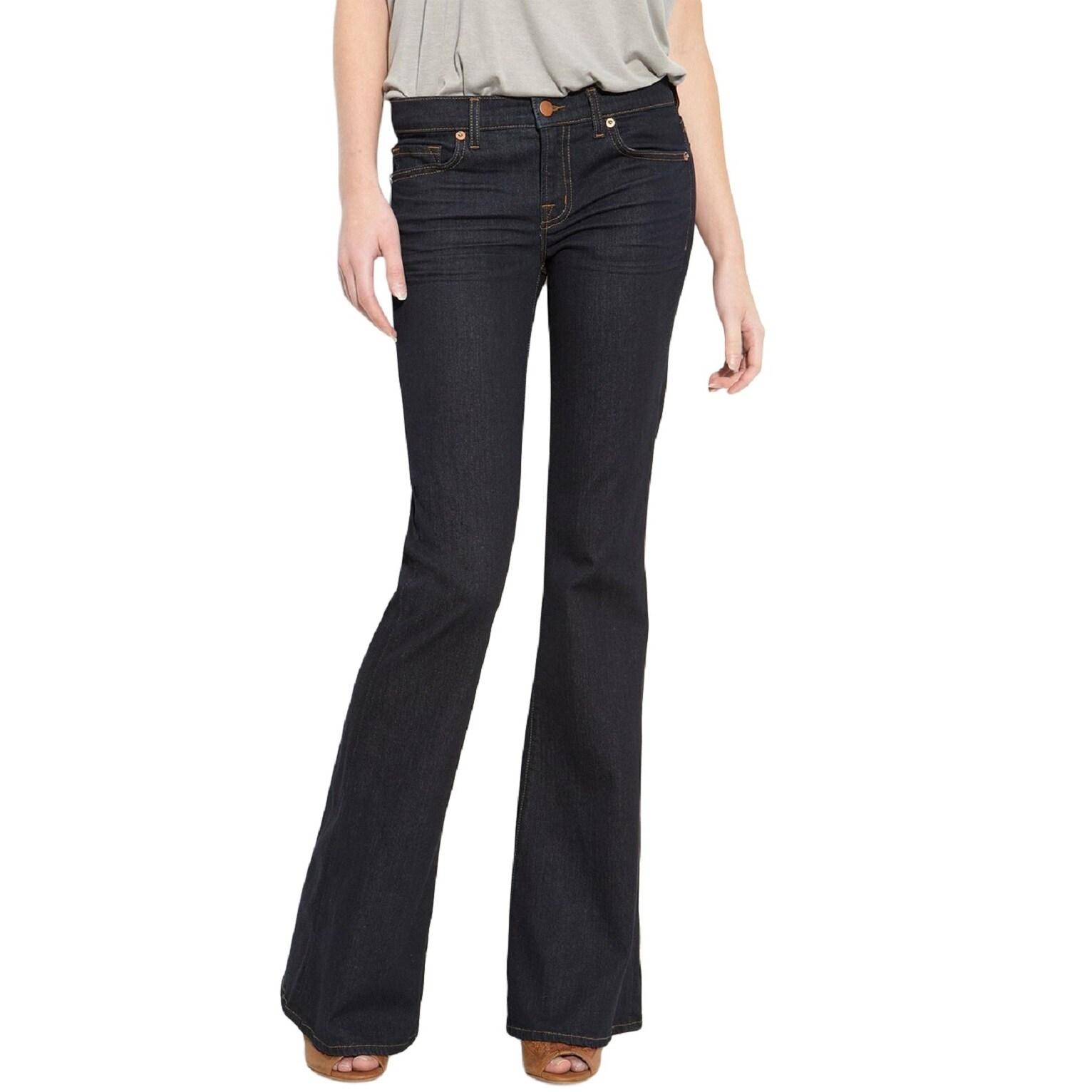 J Brand Women's Babe Flared-leg Jeans (29), Blue (cotton)