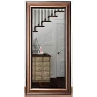 US Made Canyon Bronze Beveled Full Body Mirror - Bronze/Black