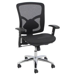 Barcalounger Black Mesh Desk Chair
