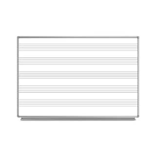 Offex Wall-Mount Music Whiteboard