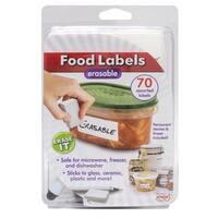 Erasable Food Labels Starter Kit