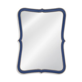 Wakefield Blue Resin Wall Mirror