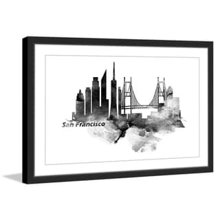 Marmont Hill - 'Classic San Francisco' Framed Painting Print