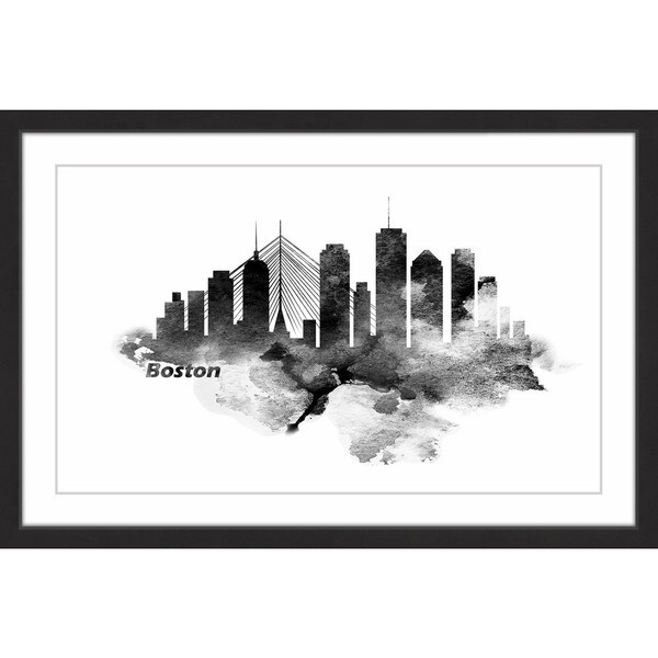 7396a82a0318 Shop Marmont Hill -  Classic Boston  Framed Painting Print - Free ...