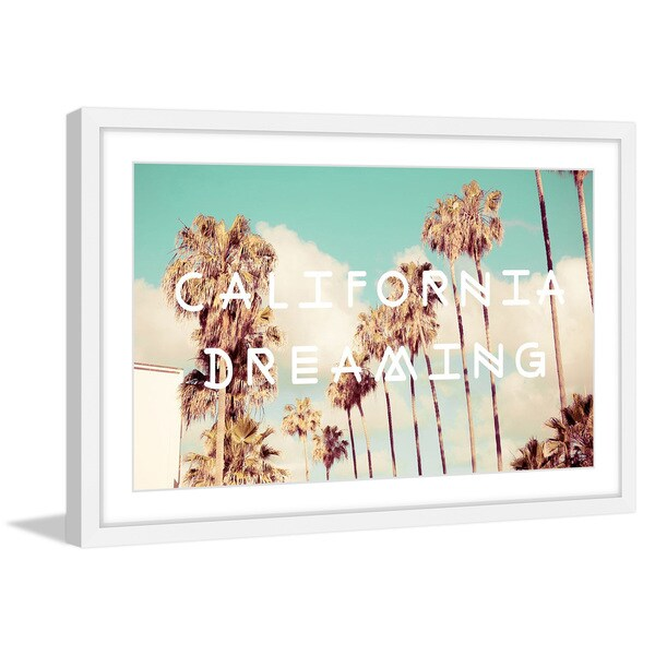 Marmont Hill -  Dreaming in Rodeo Drive  Framed Painting Print ... a113fd525a7e
