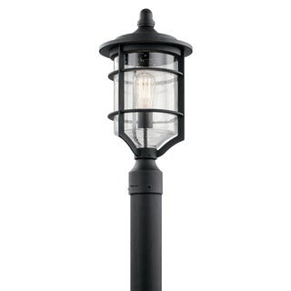 Kichler Lighting Royal Marine Collection 1-light Distressed Black Outdoor Post Mount