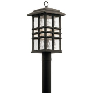 Kichler Lighting Beacon Square Collection 1-light Olde Bronze Outdoor Post Mount