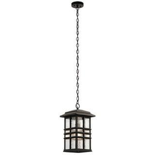 Kichler Lighting Beacon Square Collection 1-light Olde Bronze Outdoor Pendant