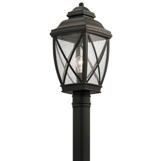 Kichler Lighting Tangier Collection 1-light Olde Bronze Outdoor Post Mount