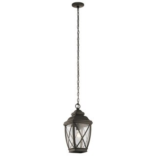 Kichler Lighting Tangier Collection 1-light Olde Bronze Outdoor Pendant