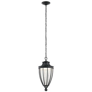 Kichler Lighting Wakefield Collection 1-light Textured Black LED Outdoor Pendant