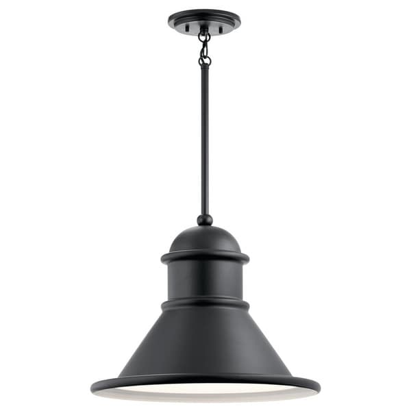 Shop Kichler Lighting Northland Collection 1-light Black