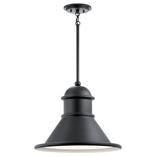 Kichler Lighting Northland Collection 1-light Black Outdoor Pendant