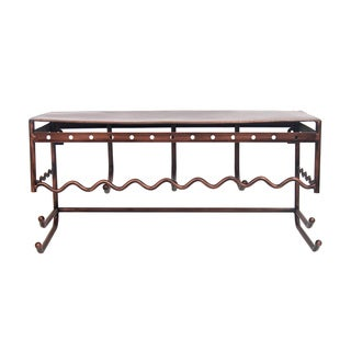 Simple Designs Home Metal Wall Mount Jewelry Holder and Organizer Rack Display Shelf