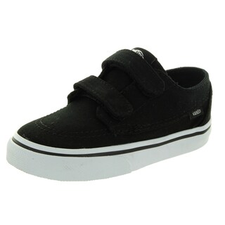 Vans Toddler Boys' Brigata V Black Canvas Skate Shoe