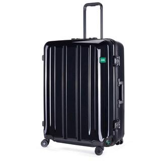 Lojel Novigo Alloy Steel 30-inch Large Hardside Upright Spinner Suitcase