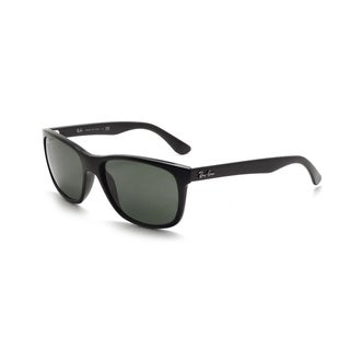 Ray-Ban RB4181 601 Black Frame Green Classic 57mm Lens Sunglasses