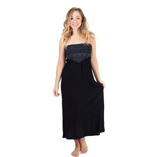 Women's Om Sheer Summer Beach Dress Cover Up