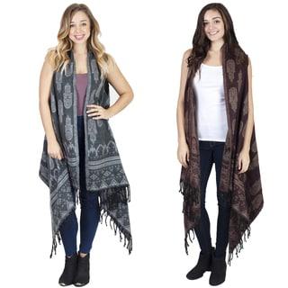 Women's Hamsa Oversized Blanket Shawl (Nepal)