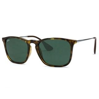 Ray-Ban RB4187 710/71 Chris Tortoise/Gunmetal Frame Green Classic 54mm Lens Sunglasses