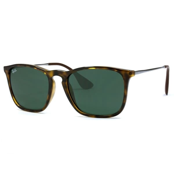 a2e770e0cb Ray-Ban RB4187 710 71 Chris Tortoise Gunmetal Frame Green Classic 54mm Lens
