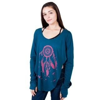Handmade Dreamcatcher Cotton Pullover Sweatshirt (Nepal)