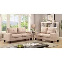 Porch & Den Aventura Biscayne Sofa and Loveseat Living Room Set