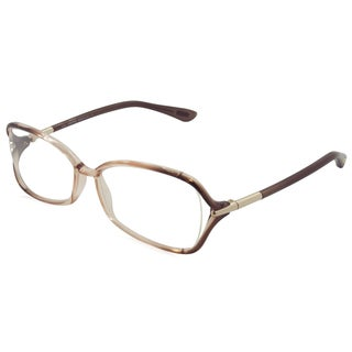 Tom Ford Readers TF5206 Blush Frame Rectangle 55 mm Lens Reading Glasses
