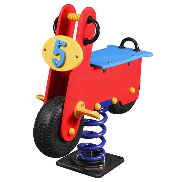 Gorilla Playsets Super Scooter Spring Rider