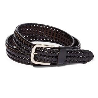 E.M.P. Men's Braided Leather Dress Belt