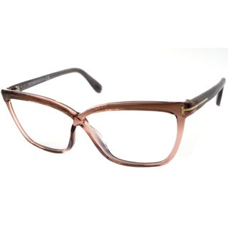 Tom Ford Readers TF5267 Women's Rose Frame Rectangular Lens Reading Glasses