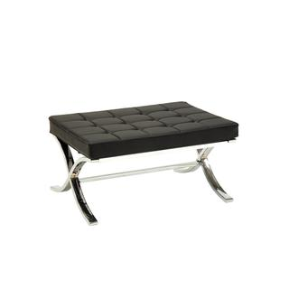 Acme Furniture Elian Faux Leather Ottoman