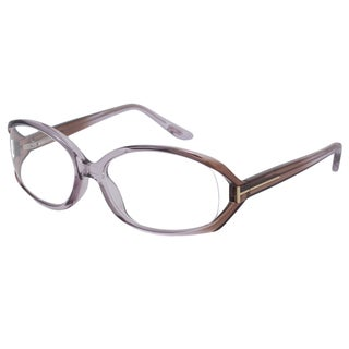 Tom Ford Rx TF5186 Women's Purple Frame Oval 55 mm Eyeglass Frames