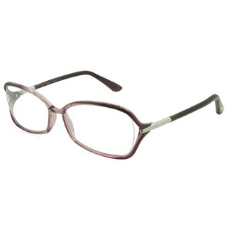 Tom Ford Rx TF5206 Women's Purple Frame Rectangle Ombre 55mm Eyeglass Frames