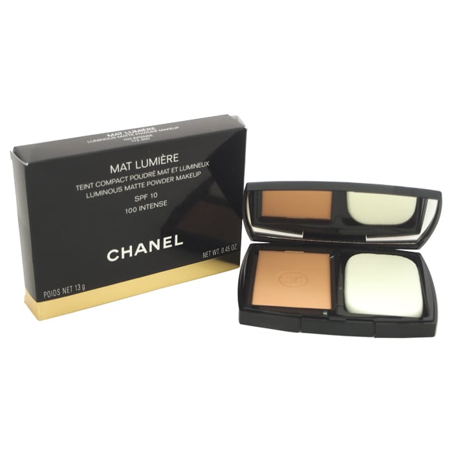 Chanel Mat Lumiere Luminous Matte Powder Makeup SPF 10 10...