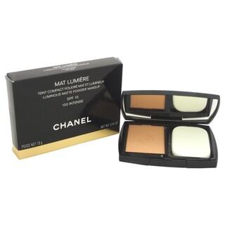 Chanel Mat Lumiere Luminous Matte Powder Makeup SPF 10 100 Intense